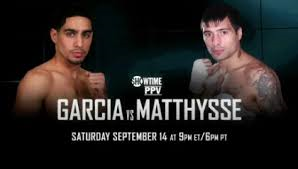 Garcia vs. Matthysse Announcement - Potshot Boxing