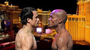 timothy bradley vs. juan manuel marquez weigh in - Potshot Boxing