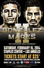 Mares vs. Gonzales 2 - Potshot Boxing