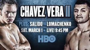 Julio Cesar Chavez, Jr. vs. Brian Vera 2 - Potshot Boxing