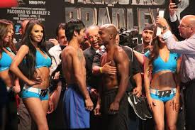 Pacquiao vs. Bradley 2 weigh-in - Potshot Boxing