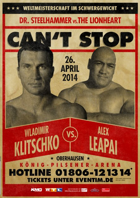 Klitschko vs. Leipai weigh-in - Potshot Boxing