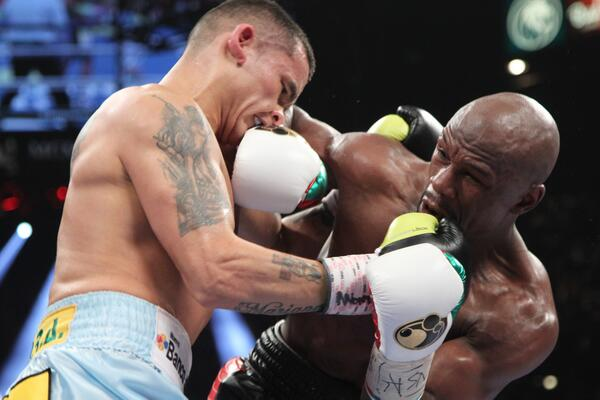 Mayweather vs. Maidana - Potshot Boxing