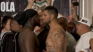 Stiverne vs. Arreola weigh in - Potshot Boxing