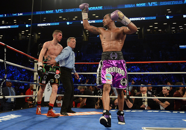 Demetrius Andrade remains Perfect - Potshot Boxing