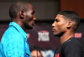 New School: Crawford vs. Gamboa weigh in - Potshot Boxing