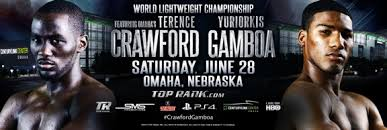 Crawford vs. Gamboa Boxing Schedule - Potshot Boxing