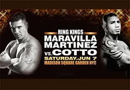Cotto vs. Martinez Boxing Schedule - Potshot Boxing