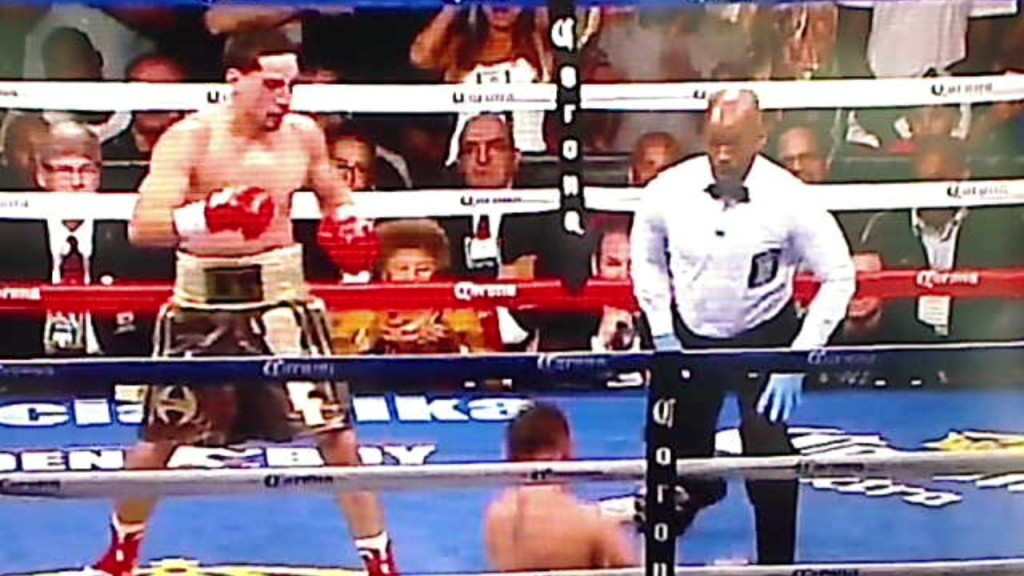 Danny Garcia vs. Rod Salka Knockout - Potshot Boxing