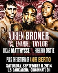 Adrien Broner Lucas Matthysse and Andre Berto - Potshot Boxing