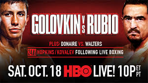 Gennady Golovkin vs. Marco Antonio Rubio Prediction - Potshot Boxing