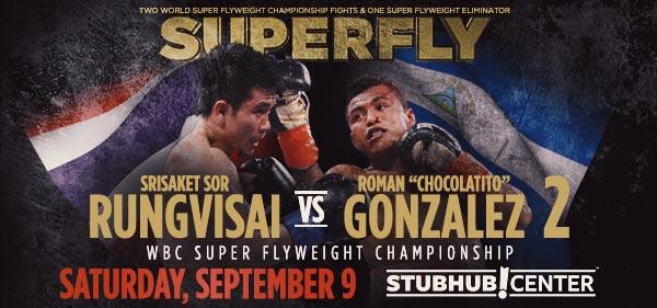 Srisaket Sor Rungvisai vs. Roman Gonzalez 2 prediction - Potshot Boxing
