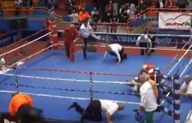 loncar pummels referee - Potshot Boxing
