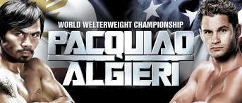 pacquiao vs. algieri undercard - Potshot Boxing