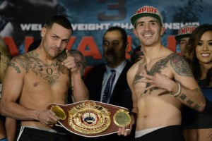 Mike Alvarado and Brandon Rios weigh in results - HBO Boxing - Potshot Boxing