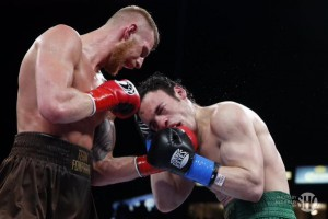 juilo cesar chavez jr gets beat up by fonfara - Potshot Boxing