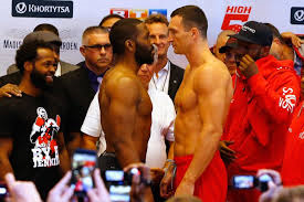 klitschko vs. jennings weigh in - Potshot Boxing