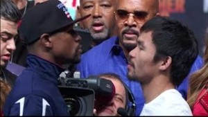 mayweather vs. pacquiao weigh in results - Potshot Boxing