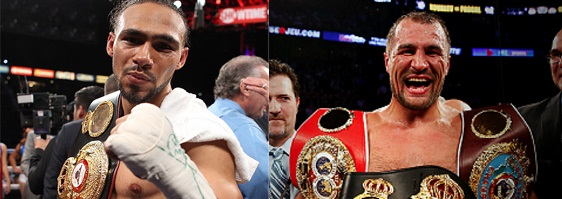 keith thurman and sergey kovalev in July - Potshot Boxing