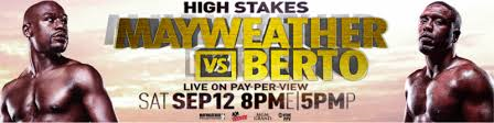 mayweather vs. berto all access - Potshot Boxing