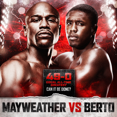 Floyd Mayweather, Jr. vs. Andre Berto Prediction - Potshot Boxing