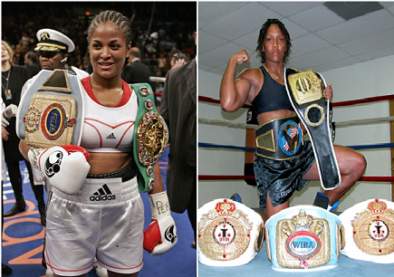 What if Laila Ali vs. Ann Wolfe would have happened - potshot boxing