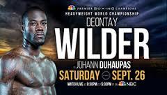 deontay wilder vs. johann duhaupas boxing poll - Potshot Boxing