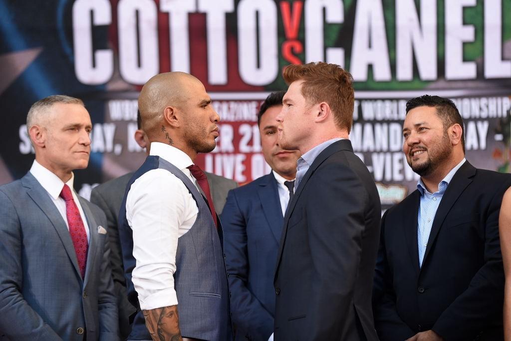 miguel cotto vs. canelo alvarez first look - Potshot Boxing