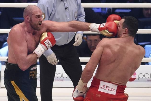 tyson fury vs. wladimir klitschko boxing results - Potshot Boxing