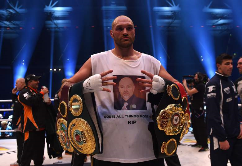 tyson fury stripped of his IBF heavyweight title - Potshot Boxing