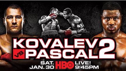 sergey kovalev vs. jean pascal 2 - Potshot Boxing