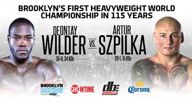 wilder vs. szpilka boxing poll - Potshot Boxing