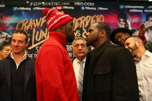 terence crawford vs. hank lundy first look - Potshot Boxing