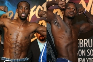 terence crawford vs. hank lundy weigh in results - Potshot Boxing