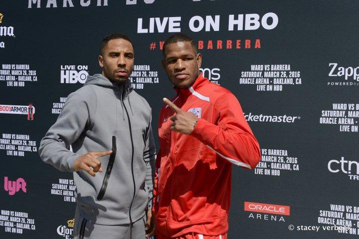 andre ward vs. sullivan barrera boxing poll - Potshot Boxing