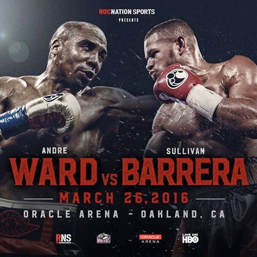 first look andre ward vs. sullivan barrera - Potshot Boxing