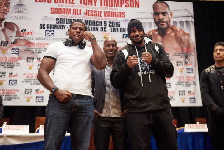 luis ortiz vs. tony thompson boxing poll - Potshot Boxing