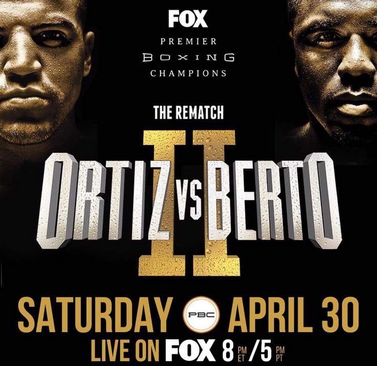 victor ortiz vs. andre berto 2 - Potshot Boxing
