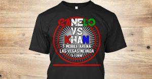canelo vs. khan tshirt - potshot boxing