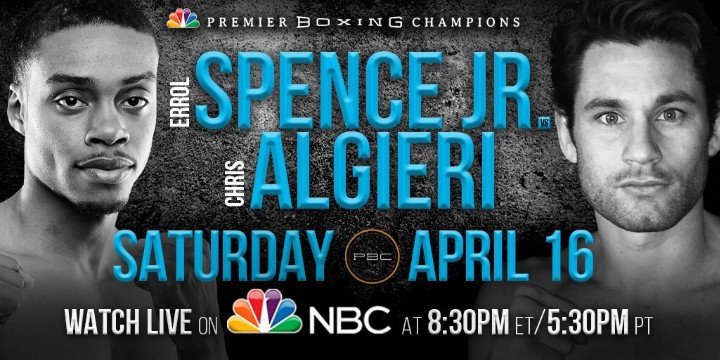 errol spence, jr. vs. chris algieri prediction - Potshot Boxing