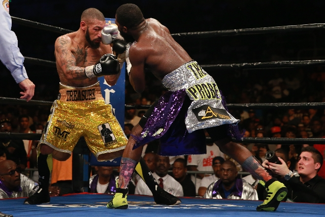 adrien broner defeats ashley theophane - Potshot Boxing