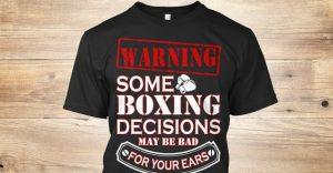 Boxing Decisions - Potshot Boxing