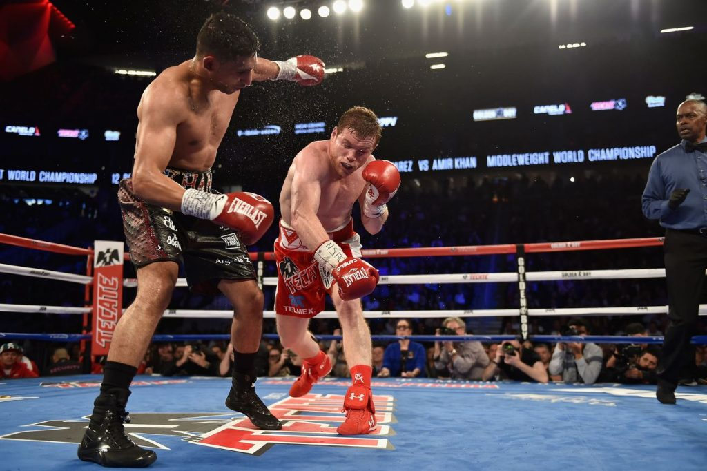 canelo vs. khan boxing results - Potshot Boxing