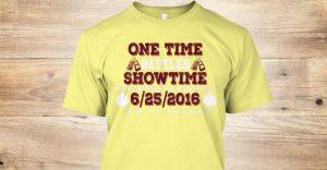 one time vs. showtime tshirt - Potshot Boxing