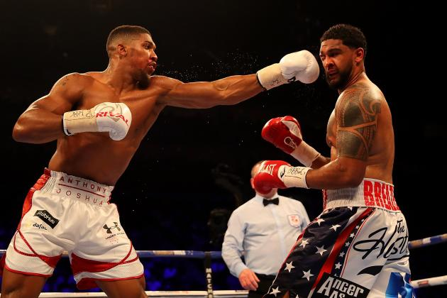 anthony joshua destroys dominic breazeale - Potshot Boxing