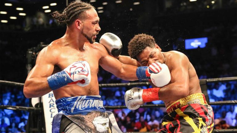 keith thurman and shawn porter results - Potshot Boxing