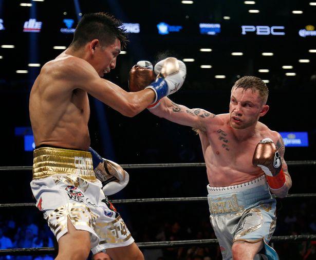 leo santa vs. carl frampton boxing results - Potshot Boxing