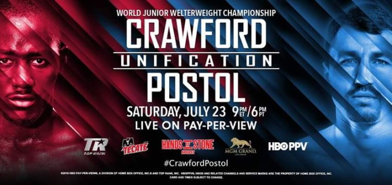 terence crawford vs. viktor postol prediction - Potshot Boxing