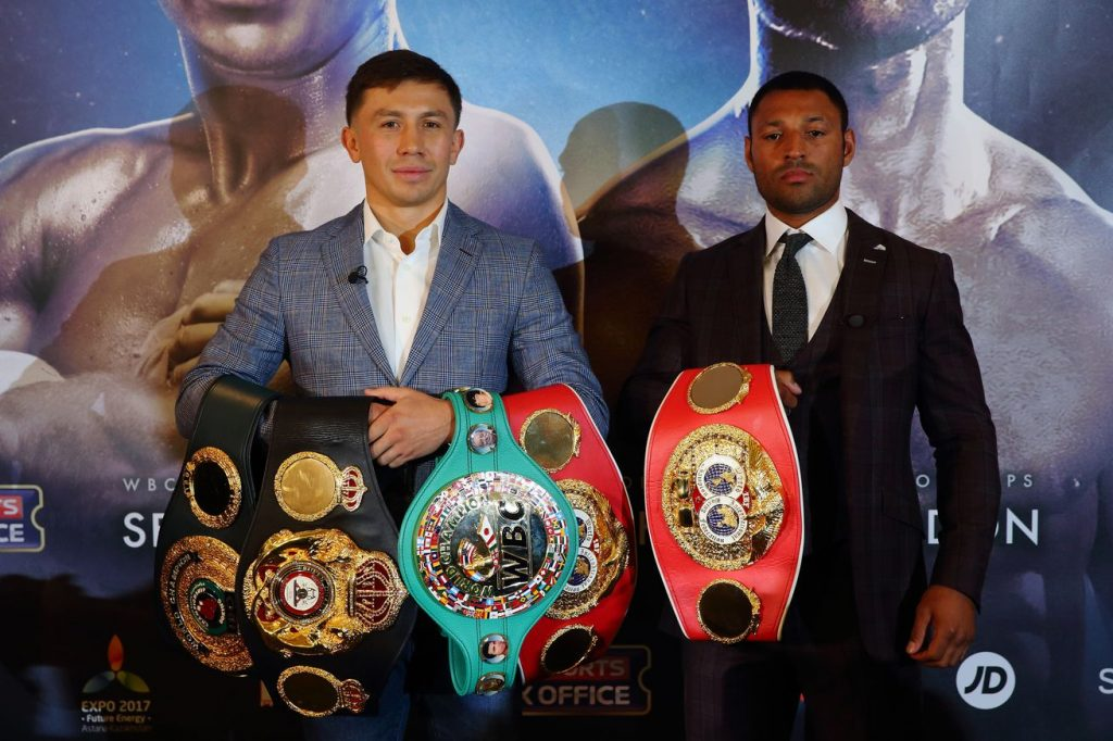 gennady golovkin vs. kell brook quick observation - Potshot Boxing