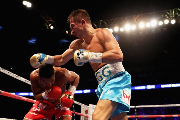 gennady golovkin vs. Kell brook result - Potshot Boxing